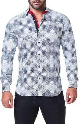 Maceoo Fibonacci Aztec Regular Fit Sport Shirt