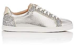 Christian Louboutin Women's Seava Woman Flat Sneakers-Version Silver