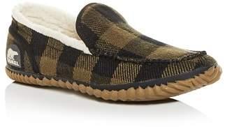 Sorel Men's Dude Plaid Moc-Toe Slippers