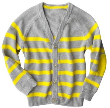 Cherokee Infant Toddler Boys' Striped Cardigan