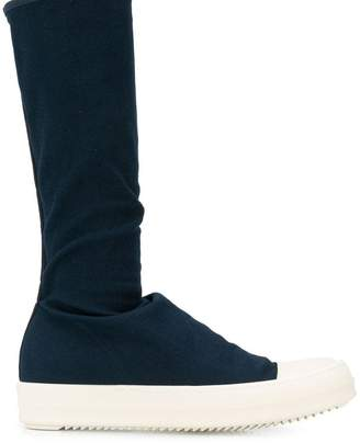 Rick Owens rubber sole boots