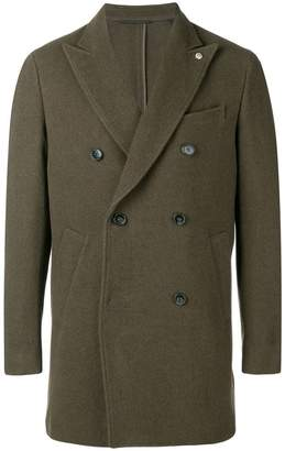 Closed double breasted coat