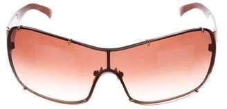 Versace Shield Gradient Sunglasses