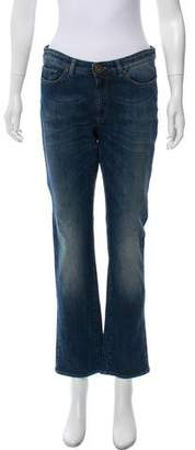 Max Mara Weekend Mid-Rise Straight-Leg Jeans