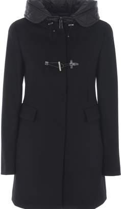Fay Contrast Hood Duffle Coat