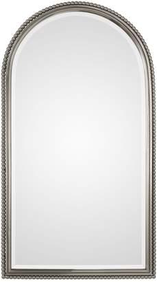 Uttermost Sherise Arch Nickel Mirror