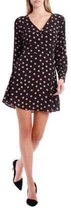 Cross Bodice Poppy Long Sleeve Dress