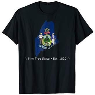 Maine Pine Tree State Shirt - USA Patriotism Tee Gift