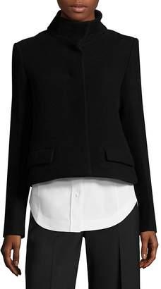 Aquilano Rimondi Women's Wool Mockneck Jacket