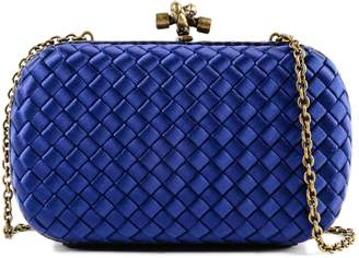 Bottega Veneta Chain Knot Evening Shoulder Bag