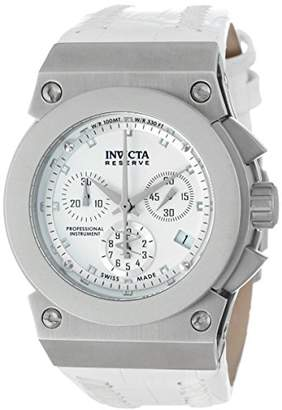 Invicta Women's 5564 Reserve Collection Akula Chronograph Leather Watch