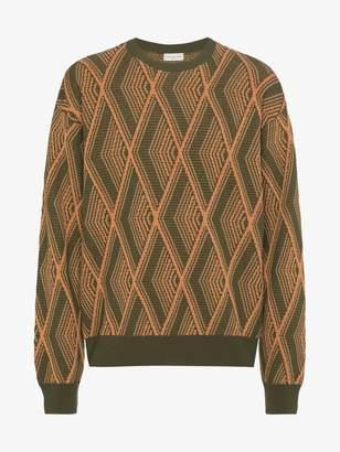 Dries Van Noten patterned jumper