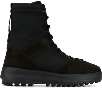 Yeezy Season 3 military boots $596.27 thestylecure.com