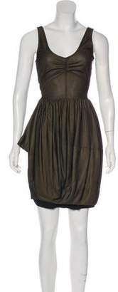 Marc by Marc Jacobs Sleeveless Metallic Dress
