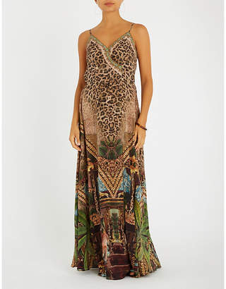 Camilla Gypsy Lounge silk maxi dress