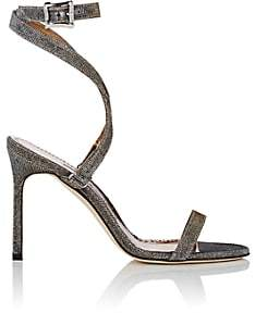 Manolo Blahnik Women's Notturno Newfi Sandals - Gold