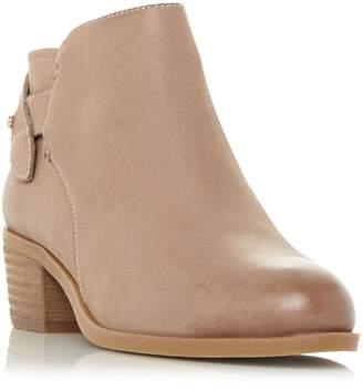 Steve Madden Nicola Sm Low Heel Whipstitch Boots