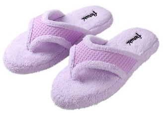 e456cde7ae8 SUMACLIFE Sumaclife Women S Luxurious Soft Plush Thong Slippers With  No-Slip Rubber Sole