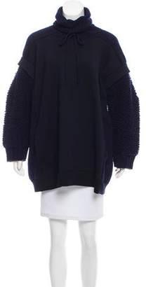 Stella McCartney Bouclé-Accented Wool Tunic