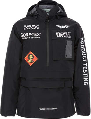 Gore-Tex Printed Shell Hooded Jacket