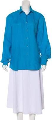Vilebrequin Linen Long Sleeve Top