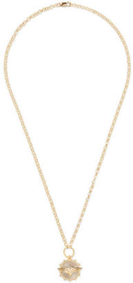 Foundrae - Wings 18-karat Gold Diamond Necklace