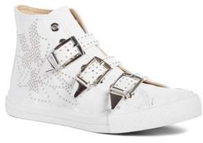 Chloé Kyle Stud Buckle High Top Sneaker