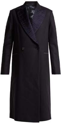 Golden Goose Cristal Wool Blend Coat - Womens - Navy