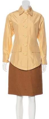 Christian Dior Two-Piece Skirt Set