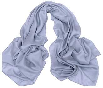 ForeverSilk-Scarves ForeverSilk Women's 100% Silk Chiffon Scarf Shawl Oblong