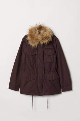 H&M Short Parka - Red