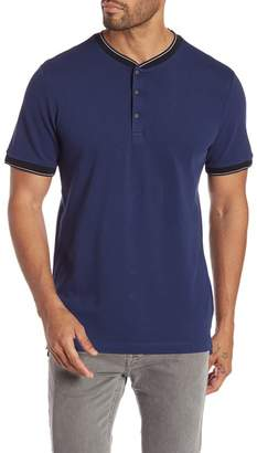 Kenneth Cole New York Short Sleeve Jersey Neck Shirt