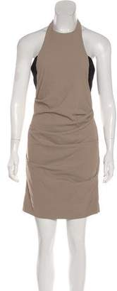 Nicole Miller Ruched Knee-Length Dress w/ Tags