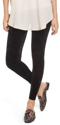 Women's Nordstrom Velvet Leggings $49 thestylecure.com