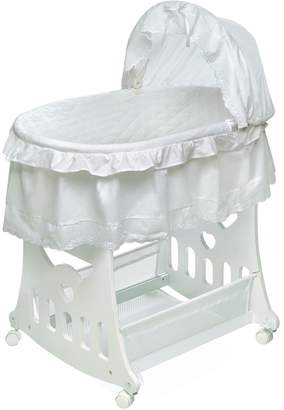 Badger Basket Half Skirt Portable Bassinet