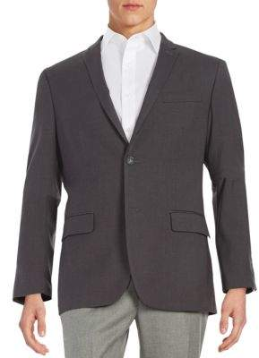 Perry Ellis Slim-Fit Two-Button Jacket