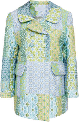 Luisa Beccaria Patchwork Quilted Jacket