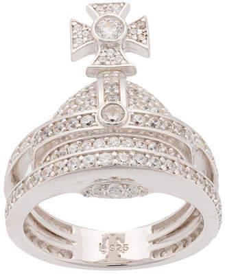 Vivienne Westwood Orb cubic zirconia ring