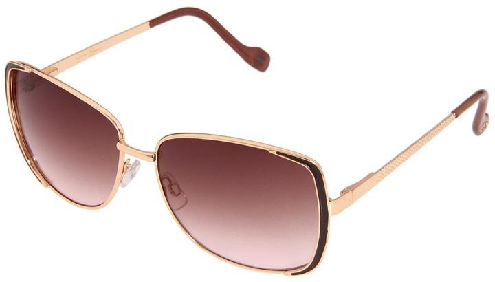 Jessica Simpson J555 (Rose Gold/Taupe) - Eyewear