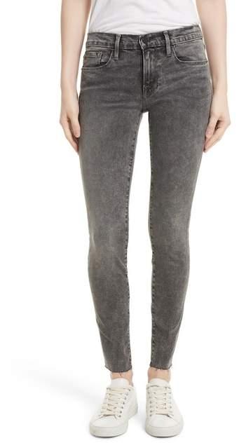 Le Skinny de Jeanne Raw Edge Skinny Jeans (Bennington)
