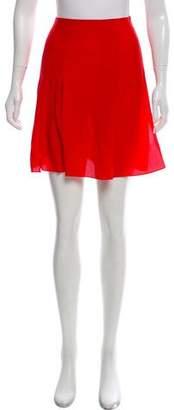 Cacharel Pleated Mini Skirt w/ Tags