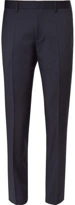 HUGO BOSS Blue Gibson Slim-Fit Super 120s Virgin Wool Suit Trousers