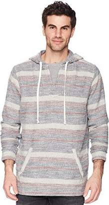 True Grit Men's Soft Cotton Vintage Washed Pacific Hoodie Pullover Poncho