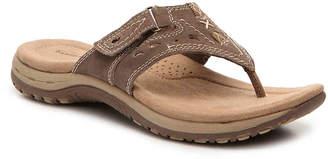 Women's Sara Flat Sandal -Light Brown $69 thestylecure.com