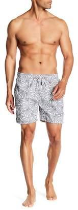 The Endless Summer Seashell Patterned Swim Trunks