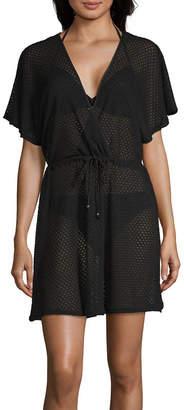 faa7f5bb90d Porto Cruz Jacquard Swimsuit Cover-Up Dress