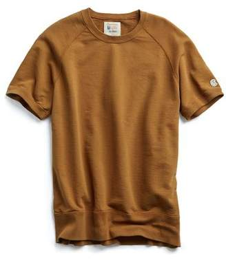 Todd Snyder + Champion Short Sleeve Sweatshirt in Chestnut