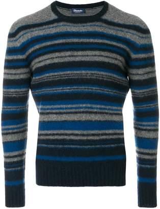 Drumohr striped long sleeved sweater