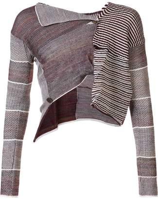 Vivienne Westwood Andreas Kronthaler For cropped patchwork cardigan