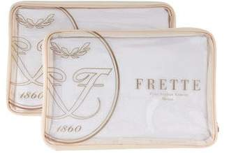 Frette Pair of Embroidered Shams